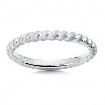 Sterling Silver Stacking Band